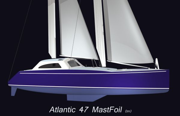 Atlantic 47 MastFoil