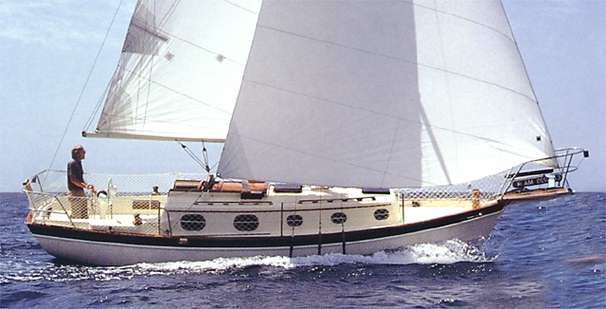 Pacific Seacraft 27 Orion Mark II, Cutter Manufacturer Provided Image