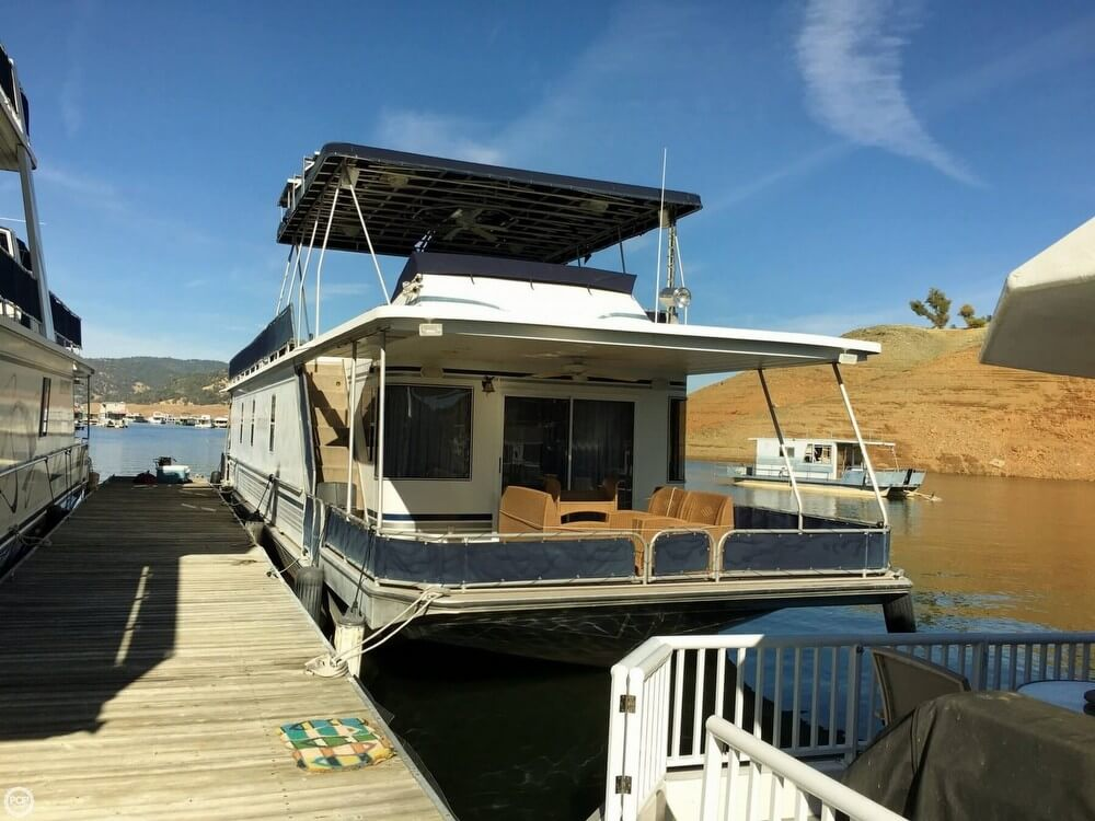 Stardust 74x16 houseboat 2001 Stardust Cruiser 74x16 houseboat for sale in Oroville, CA