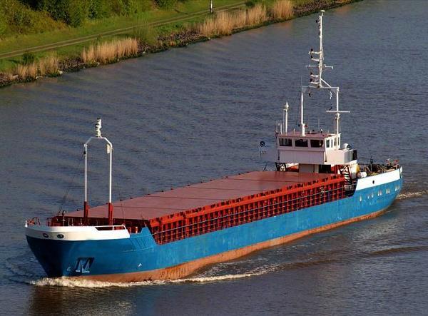 Custom Cargo Ship