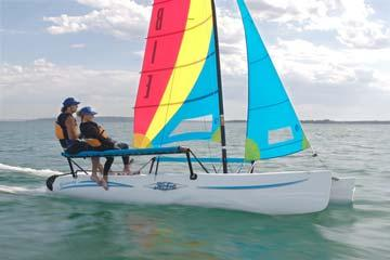 Hobie Cat Getaway Under Sail