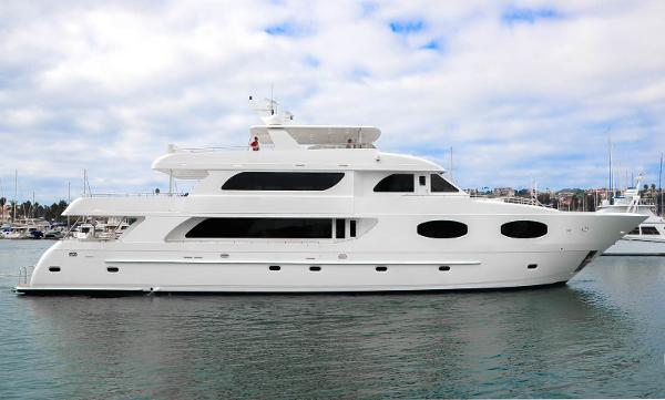 Transworld Tri Deck Motor yacht