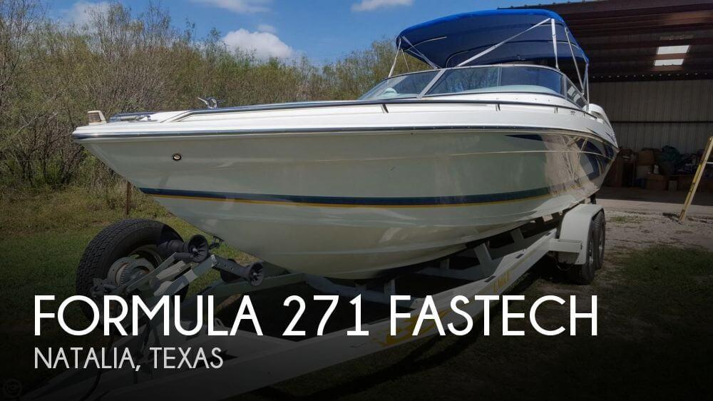 Formula 271 FASTech 2001 Formula 271 FASTECH for sale in Natalia, TX