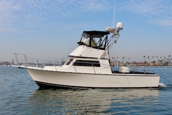 Blackman Boats Billfisher 26 Port Profile