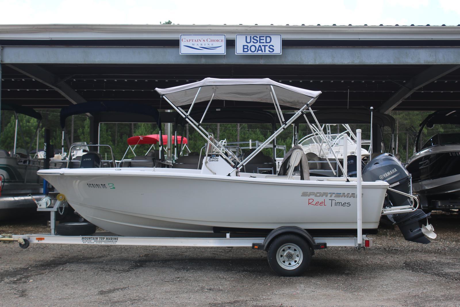 Sportsman Boats 17 Island Reef CC