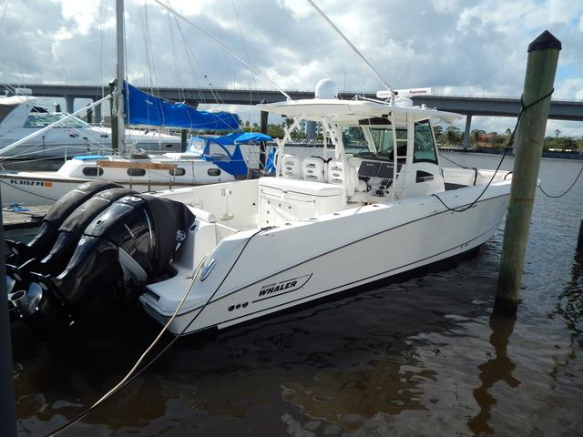Boston Whaler 370 Outrage Repowered 37 Boston Whaler 2011