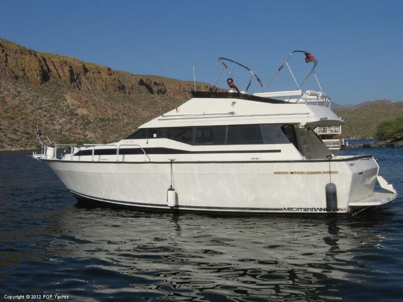 1990 mainship double cabin 41 tortilla flat arizona for Regal flooring arizona