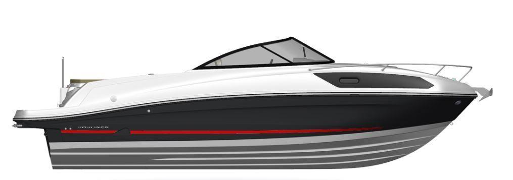 Bayliner VR 6 C  im Vorlauf