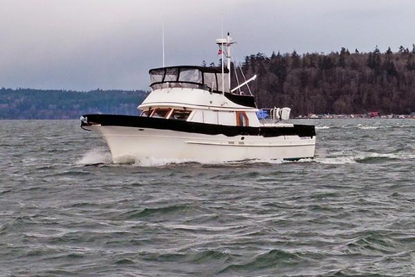 Albin 43 Trawler Main