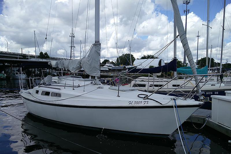 Newport Mk III Starboard Topsides
