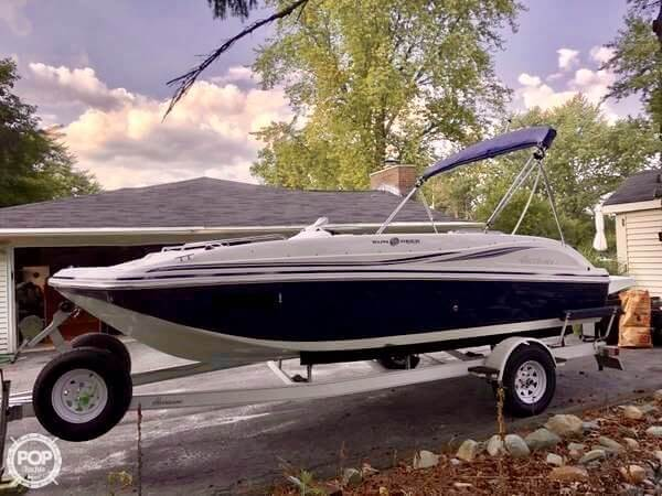 Hurricane SUNDECK SPORT 188 2012 Hurricane Sundeck Sport 188 for sale in Clarkston, MI
