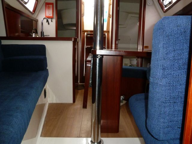 Looking aft aft bunk level