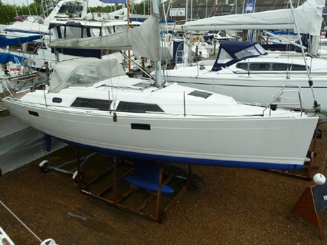 Ashore on Michael Schmidt display line, clean and antifouled for next owner.