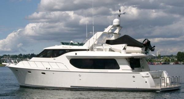 Symbol Yachts 66 Pilothouse Profile