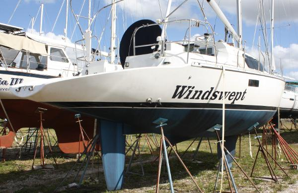 Beneteau Evasion 36 Windswept Waiting to Get Back in The Water