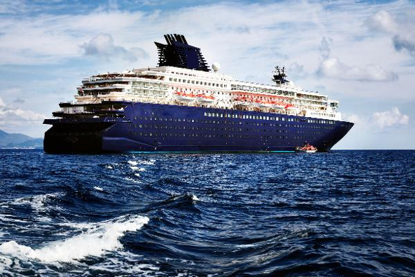Modern Cruise Ship, 1800 Passengers -Stock No. S2393