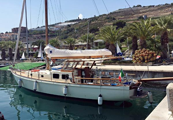 Custom Cantiere Navale Canaletti 11.80 Motorsailer Image 1