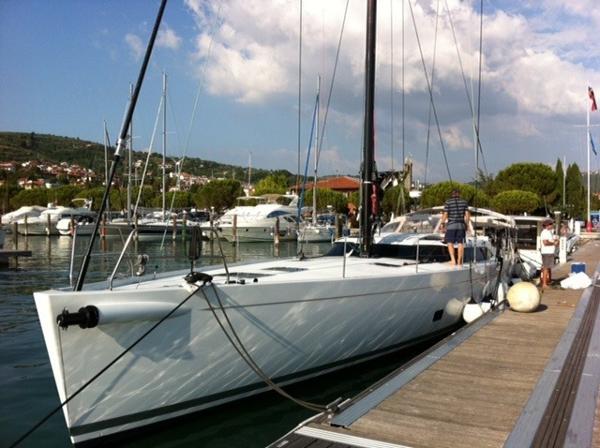 Shipman 63 Moored up