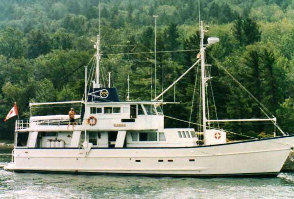 Custom Motor Yacht Cruising