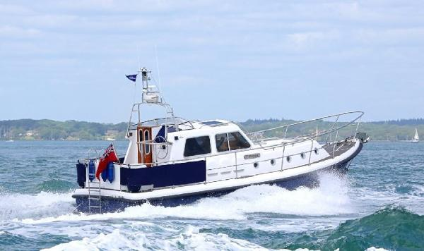 Seaward 35  Aft Deck Seaward 35 'Tipanie'