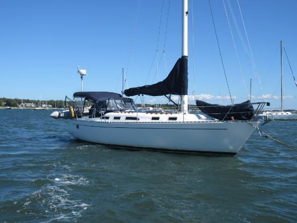 Freedom Yachts 38 Freedom 38 Caroline on mooring