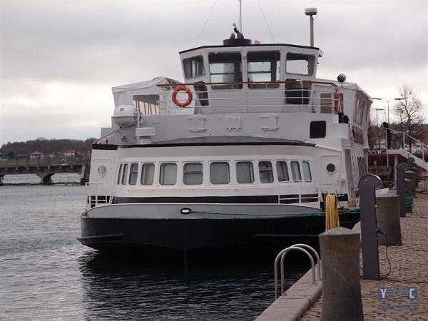 Woonschip, Wohnschiff, Hausboot, Restaurant, Live Aboard Vessel 000010112-0.jpg