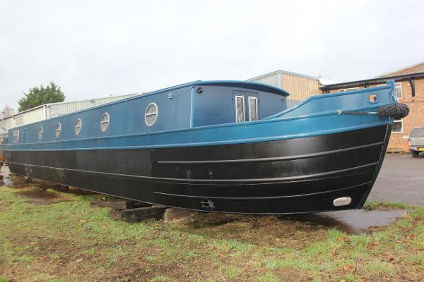 "Wide Beam Narrowboat Colecraft 70'x10'06"" SAILAWAY"