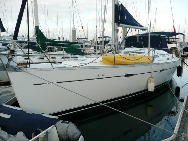 Beneteau America Sloop Port Side