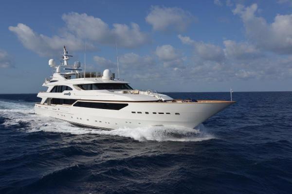 Benetti Tri Deck Motor Yacht