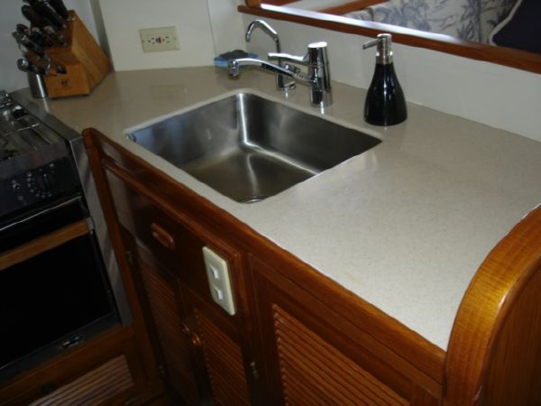 Galley Sink & Counter