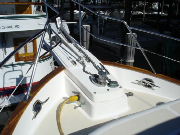 Bow Anchor set up