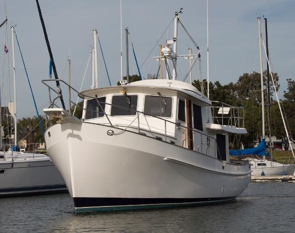 Krogen Pilothouse Trawler