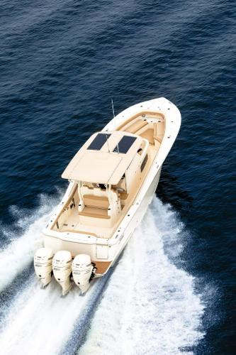 Scout 355 LXF Stock Image - Scout 355 LXF Same Color Scheme as Stock Boat