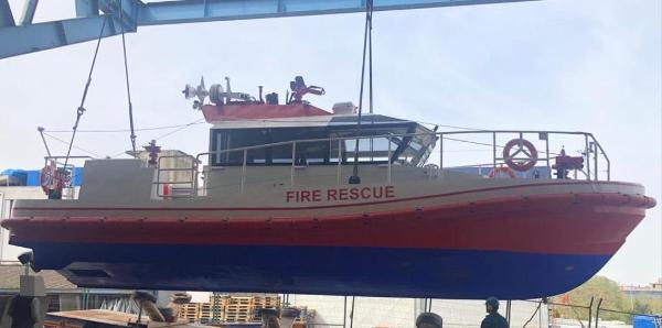 Commercial Fire Rescue Work Boat Fire Rescue Work boat (2018)