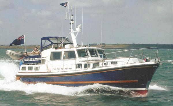 Nelson 45 Nelson 45 afloat