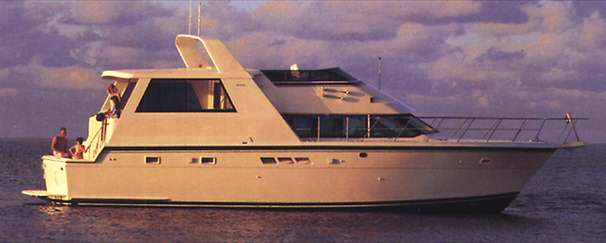 Hatteras 52 Cockpit Motor Yacht Manufacturer Provided Image