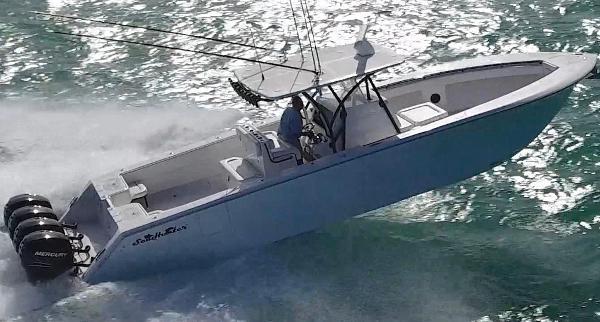 SeaHunter 39 Quad Mercury 350