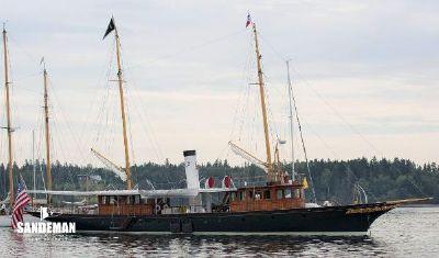 Custom Pusey & Jones Steam Yacht
