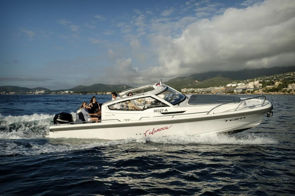 Nimbus W9  Charterboot Mallorca