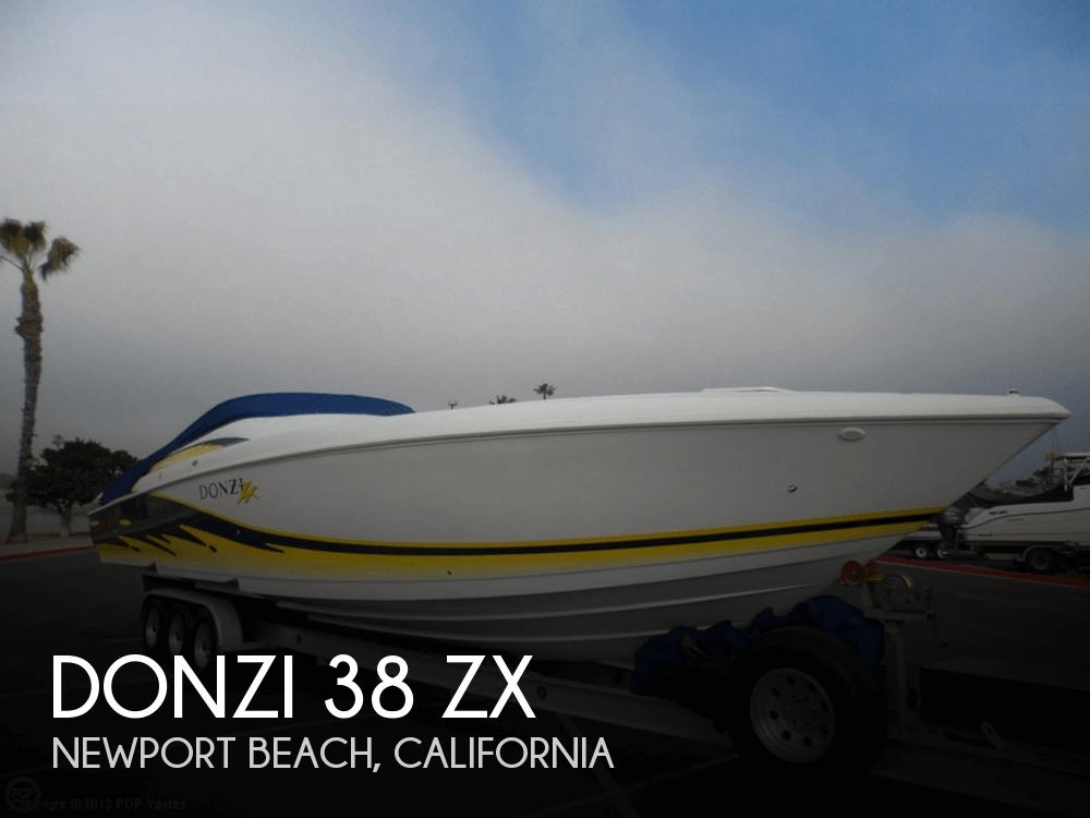 Donzi 38 ZX 2003 Donzi 38 ZX for sale in Newport Beach, CA