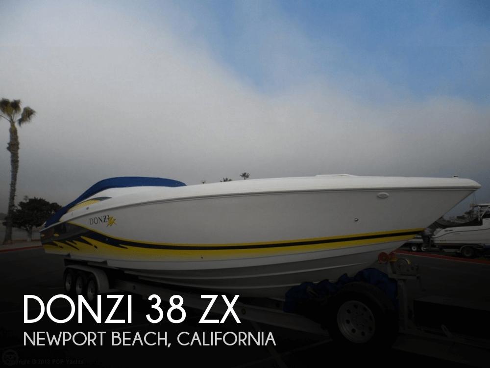 Donzi 38 ZX 2003 Donzi 38 ZX for sale in Newport Beach, CA