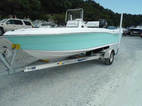 Clearwater 1900 center console