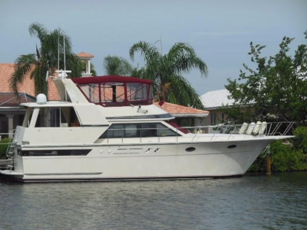 Californian Motor Yacht Starboard Profile