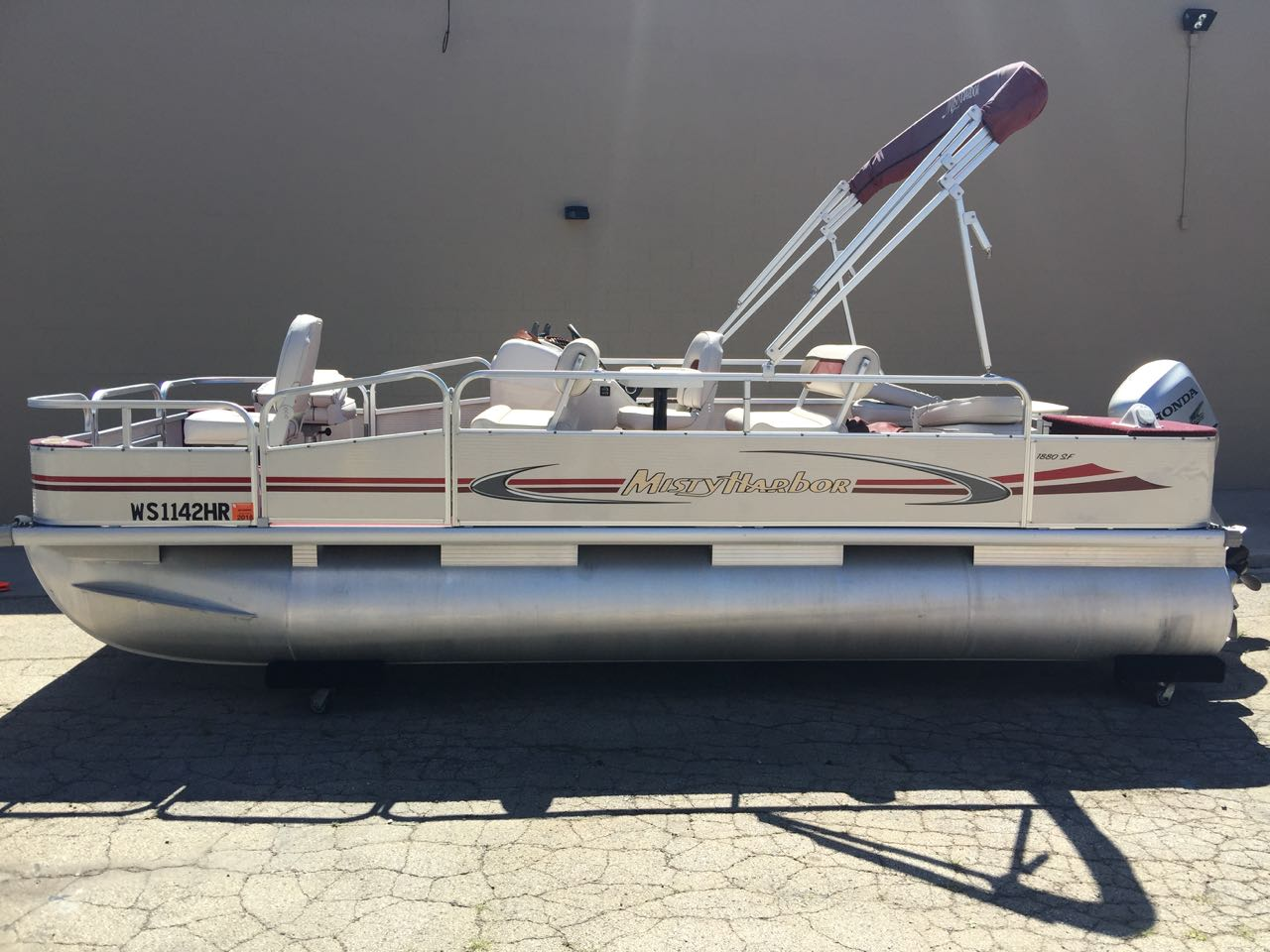 Used pontoon misty harbor boats for sale in wisconsin for Used fishing boats for sale in wisconsin
