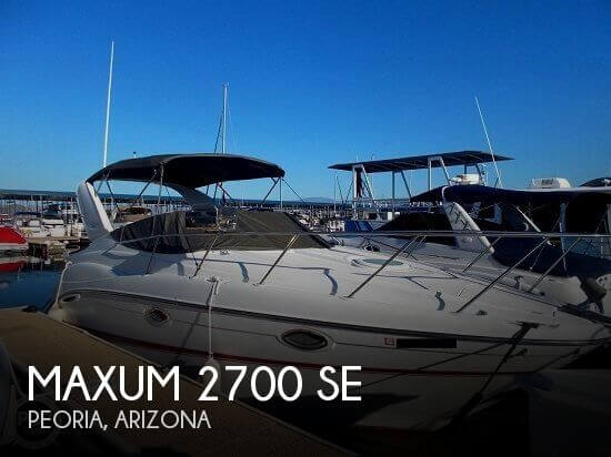Maxum 2700 SE 2004 Maxum 2700 SE for sale in Peoria, AZ