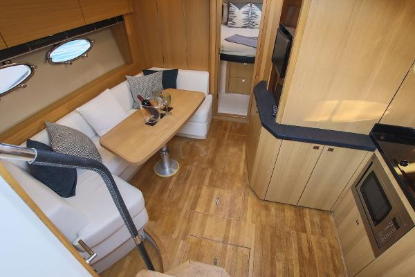 Princess V42 - Saloon and Galley