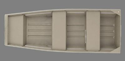 White River Marine 1036 Riveted Jon