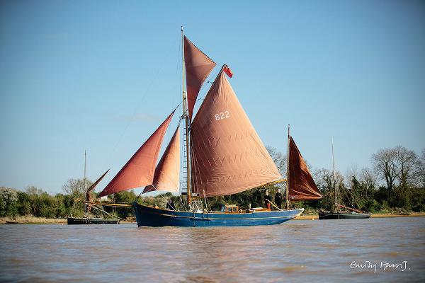 Colchester Smack DUSMARIE 'DUSMARIE' River Deben May 2015