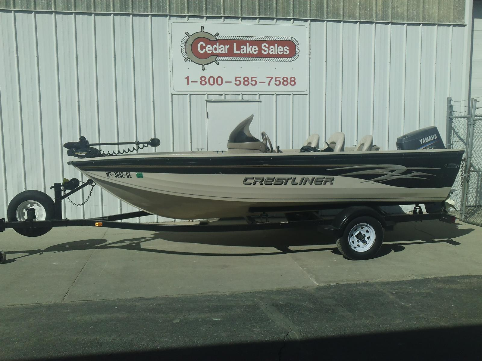 Used boats for sale in west bend wisconsin for Crestliner fish hawk