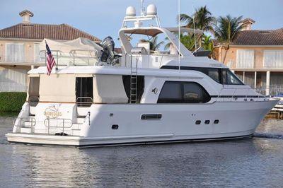 Queenship Pilothouse Motoryacht Stabilized